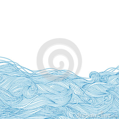 Free Waves Background Stock Image - 25146041