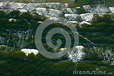 Waves In The Baltic Sea Royalty Free Stock Photos - Image: 27518778