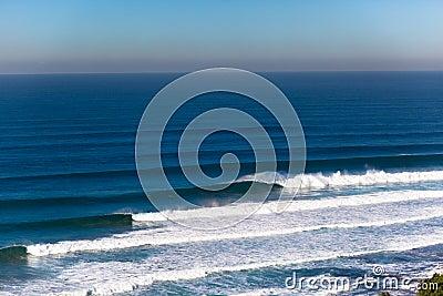 Waves Big Swells Crashing