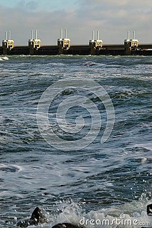 Free Waves Crushing On The Dutch Coast Stock Photography - 504692