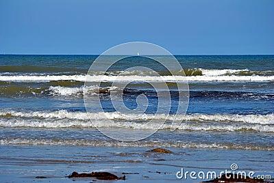 Waves in the irish sea