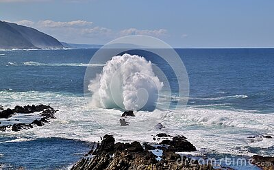 Waves On Rocky Shores Free Public Domain Cc0 Image