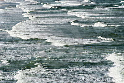 Waves at San Vito Lo Capo