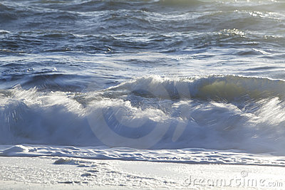 Waves at shore