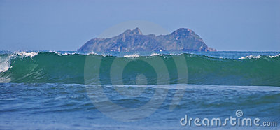 Waves in the South Pacific