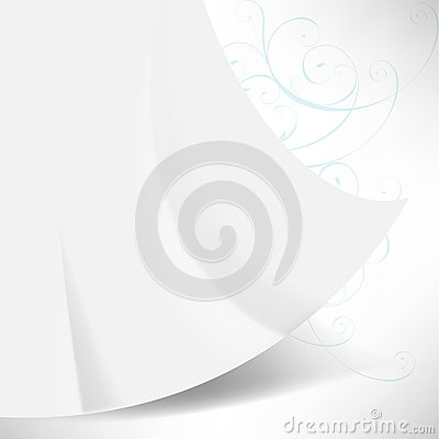 Waving paper concept background