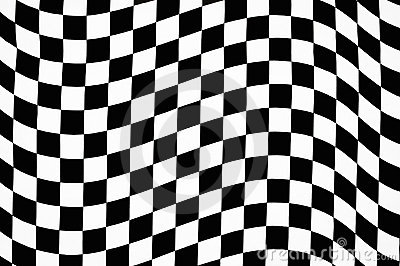 Black and White Checkered Pattern by WebButtonsCO, Royalty free