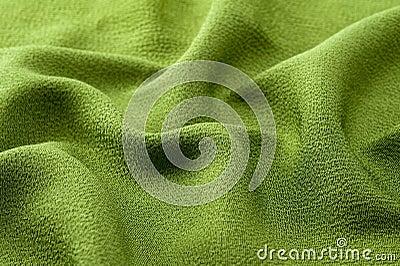 Wavy cloth