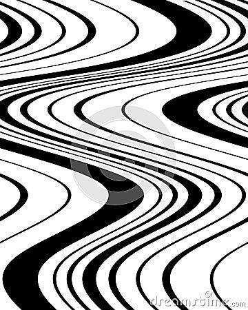 Wavy Lines 12