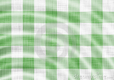 Wavy picnic cloth