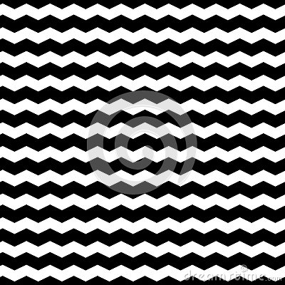 Free Wavy Zigzag Lines Seamless Pattern. Distorted Lines Texture. Stock Photo - 88579460