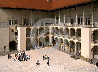 Wawel castle Editorial Stock Image