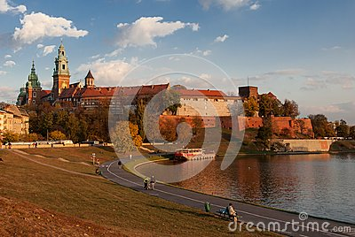 The Wawel Castle Editorial Stock Image