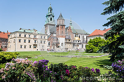 Wawel Castle Editorial Stock Photo