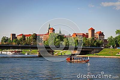 Wawel Castle. Editorial Stock Photo