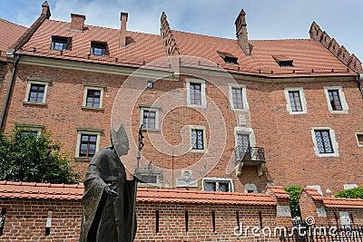 Wawel complex  in Krakow
