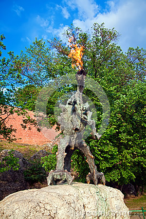Wawel Dragon Sculpture