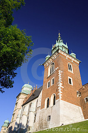 The Wawel Royal Castle in Cracow
