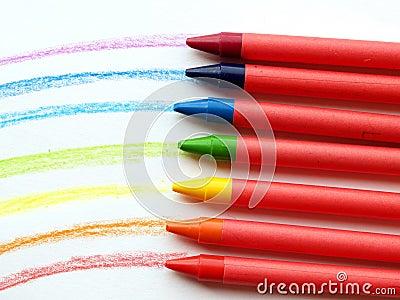 Wax rainbow
