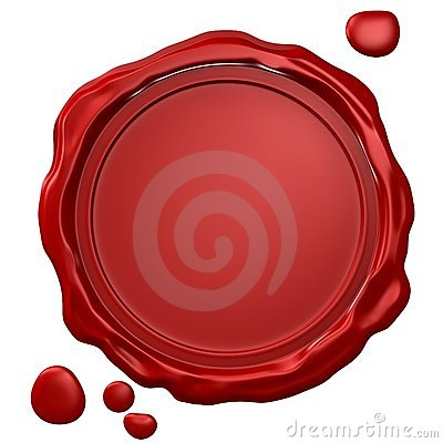 Free Wax Seal Royalty Free Stock Photography - 2503017