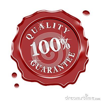 Wax Seal Quality Guarantee