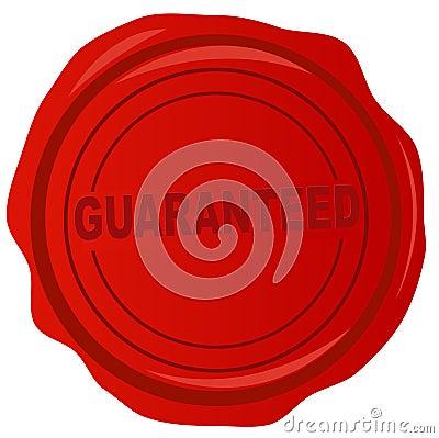 Wax stamp - guaranteed