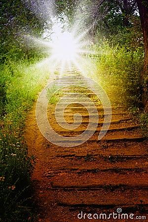 Free Way To Heaven Stock Photos - 14824063