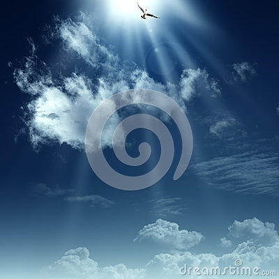 Free Way To Heaven. Royalty Free Stock Photography - 28563837