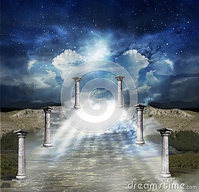 Free Way To Sky Stock Image - 26568841