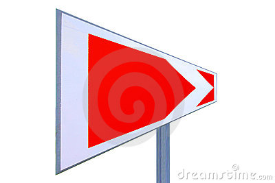 This way traffic sign