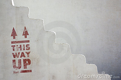 This Way Up Stock Photography - Image: 14856072