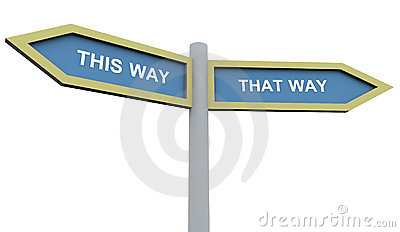 This way that way