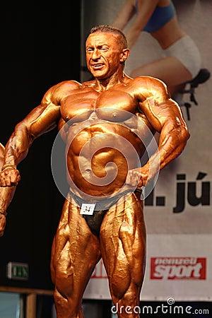 WBPF bodybuilding European championship Editorial Image