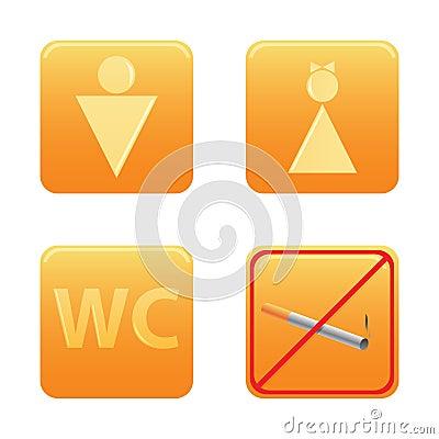 WC icon set