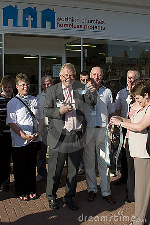 WCHP Charity Shop Opening Editorial Image
