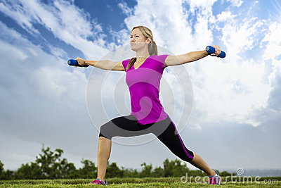 Wczesny sprawności fizycznej ranek szkolenie