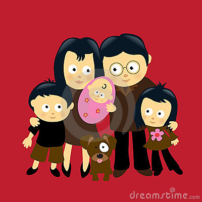 Free We Are Family 4 Royalty Free Stock Photos - 12915008