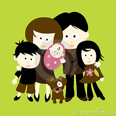 Free We Are Family Royalty Free Stock Photography - 8468477