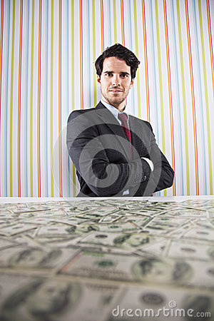 Wealth Businessman Stock Photo - Image: 41728915