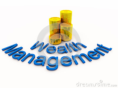 Wealth management concept