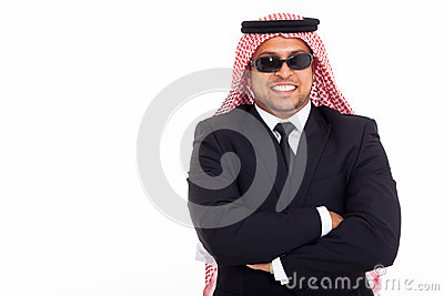 Wealthy arabian businessman