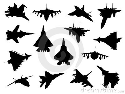 Weapon collection, fighter jets