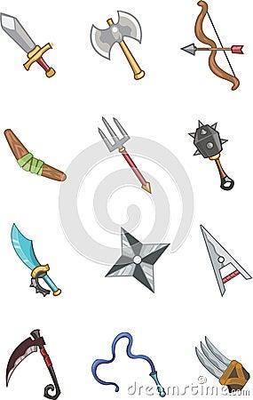 Weapon doodle