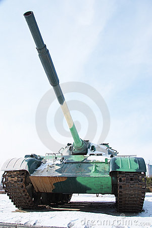 A weapon of war: tanks