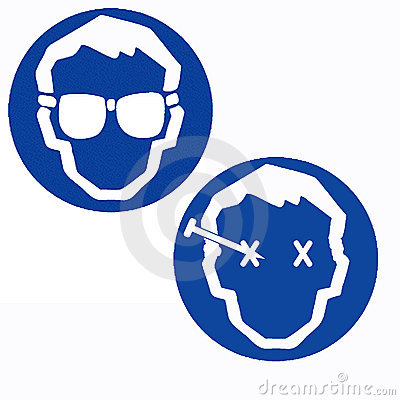 Chemical Safety Goggles Royalty Free Stock Photos - Image: 13888108