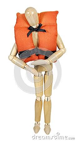 Wearing Life Vest