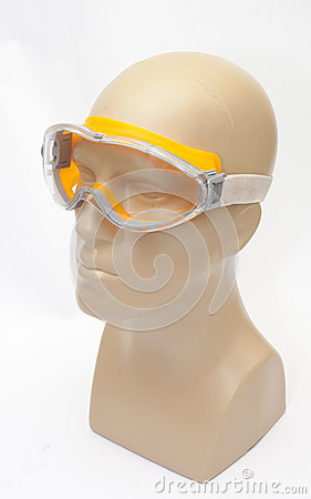 Wearing protective mask
