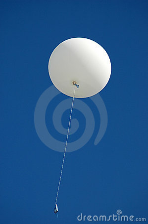 Free Weather Balloon Royalty Free Stock Image - 1420726