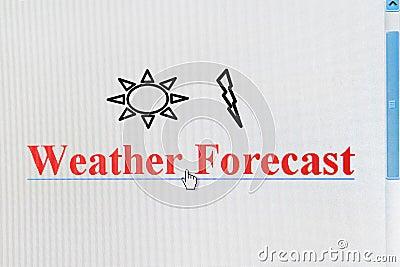 Weather Forecast Internet Link