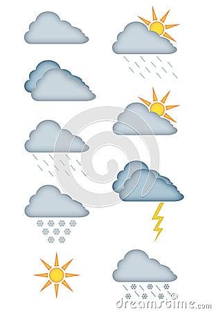 Weather Forecast Vectors